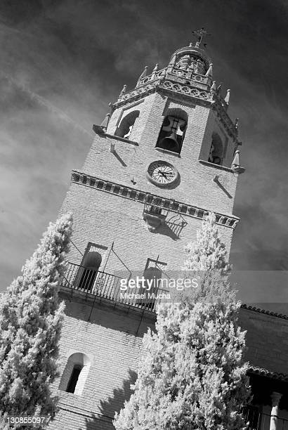 building, historic town centre, ronda, andalucia, spain, europe - michael mucha stock-fotos und bilder