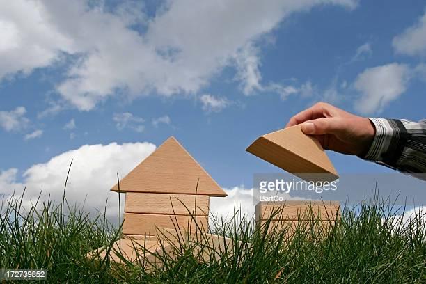 Bâtiment maisons