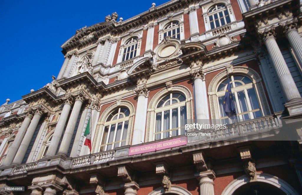 Museo Nazionale Del Risorgimento Italiano.Building Housing Museo Nazionale Del Risorgimento Italiano Stock