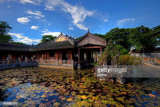 Building in the Imperial City of Hue, Vietnam