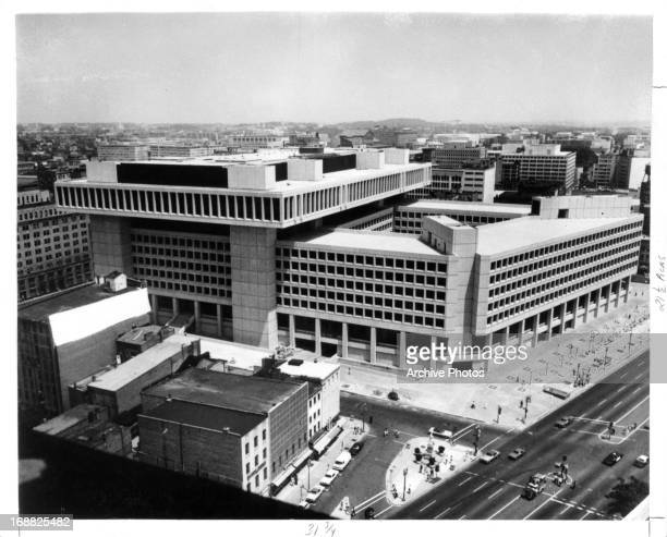 FBI Building in Washington DC 1975