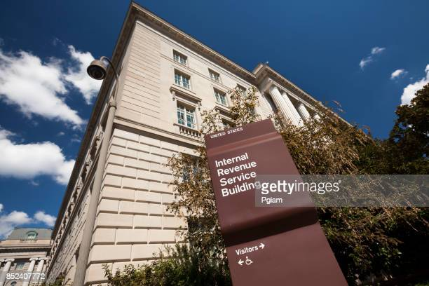 irs building in washington - irs stock photos and pictures