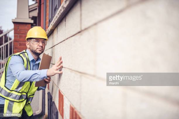 building inspector at work - inspector stock pictures, royalty-free photos & images