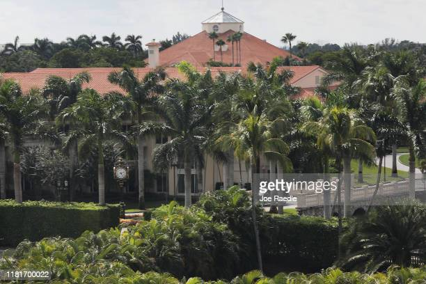 Building is seen on the grounds of the Trump National Doral golf resort owned by U.S. President Donald Trump's company on October 17, 2019 in Doral,...