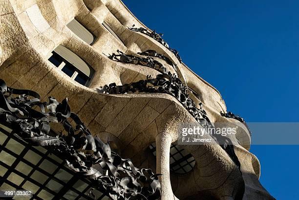 Building La Pedrera en Barcelona
