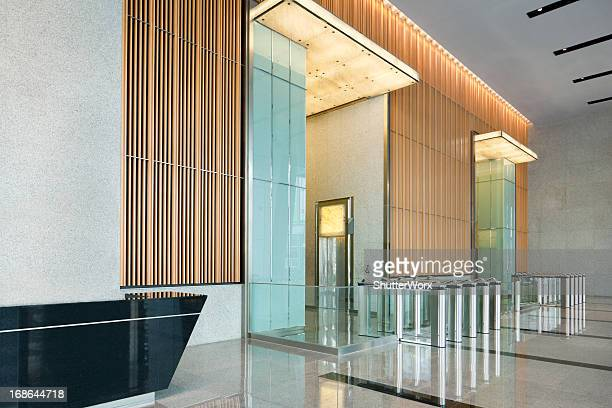 building lobby - premium access stock pictures, royalty-free photos & images