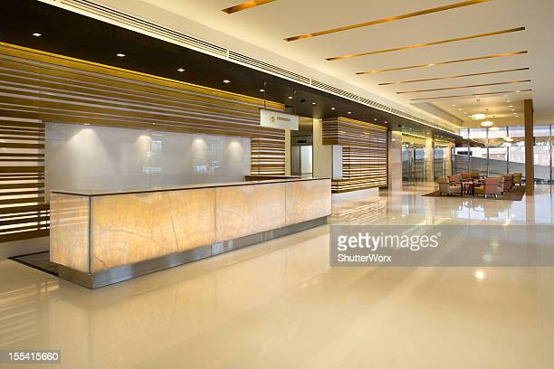 Building Lobby Reception