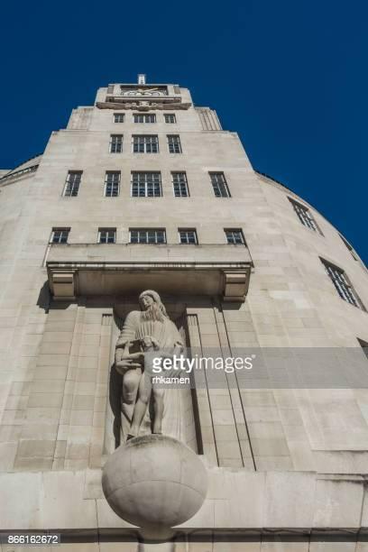 BBC building, London, England, UK