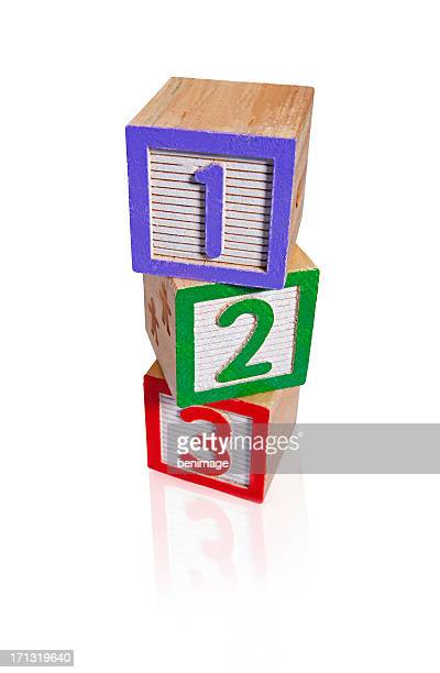Building numbers Blocks (clipping paths)