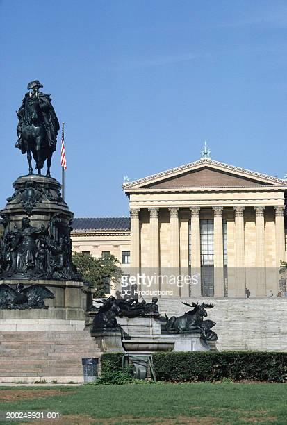 Building of Art Museum, Philadelphia, PA, USA