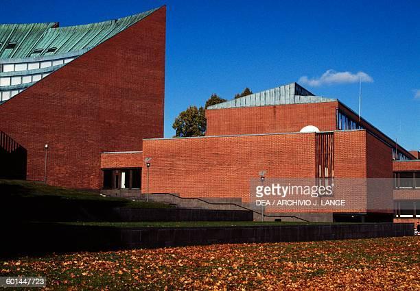 Building of Helsinki University of Technology 19551964 designed by Alvar Aalto Otaniemi Espoo Helsinki Finland