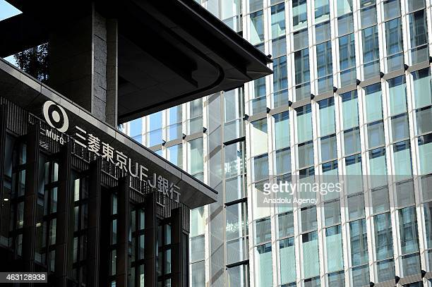Building of the Bank of Tokyo Mitsubishi UFJ in the financial and business district of Tokyo Japan on February 10 2015 Japanese Prime Minister Shinzo...