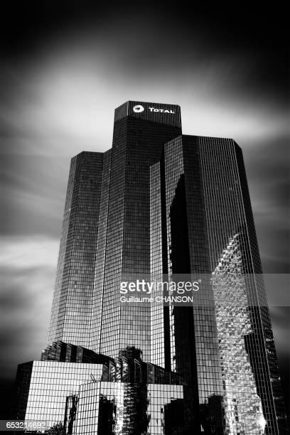 Building of Total company, Financial district of La Défense, Paris, France