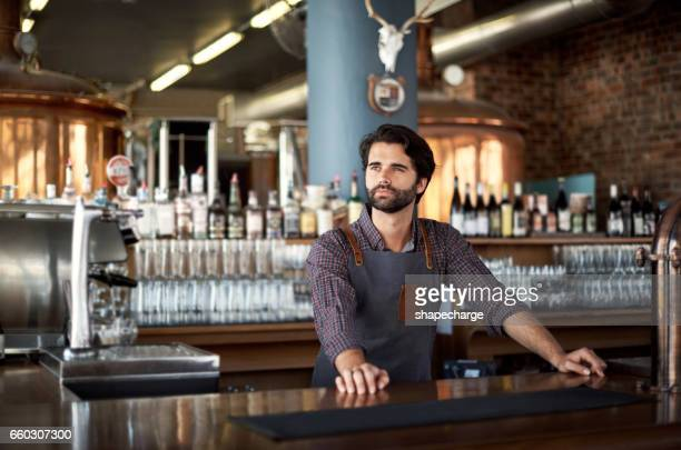 Building on his bar's success with great bartending skills