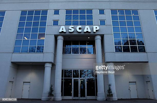 ASCAP building on January 1 2016 in Nashville Tennessee