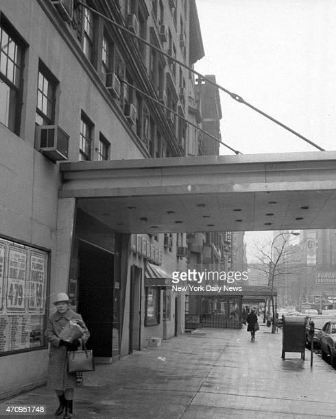 Building on W 72d St where teacher Roseann Quinn was murdered
