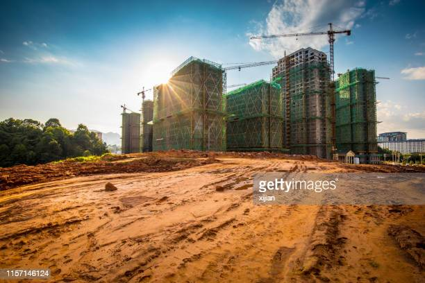 building - construction site stock pictures, royalty-free photos & images