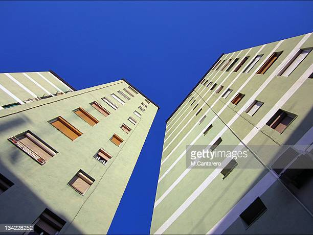 building - cornella de llobregat stock pictures, royalty-free photos & images