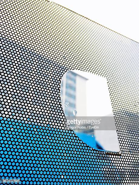 Building Reflection On Glass