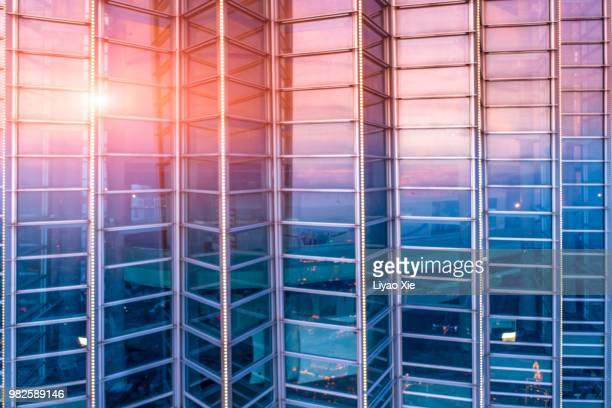 building reflection - bank financial building stock pictures, royalty-free photos & images