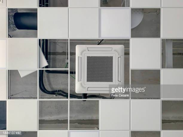 building services installations work - installation art stock pictures, royalty-free photos & images