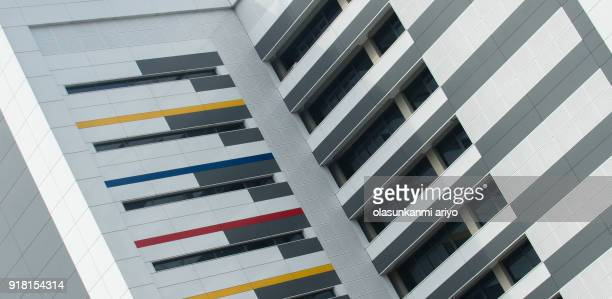 building shapes - lagos state stock pictures, royalty-free photos & images