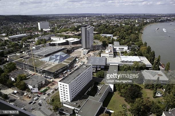 GERMANY BONN Building site of the World Conference Center Bonn