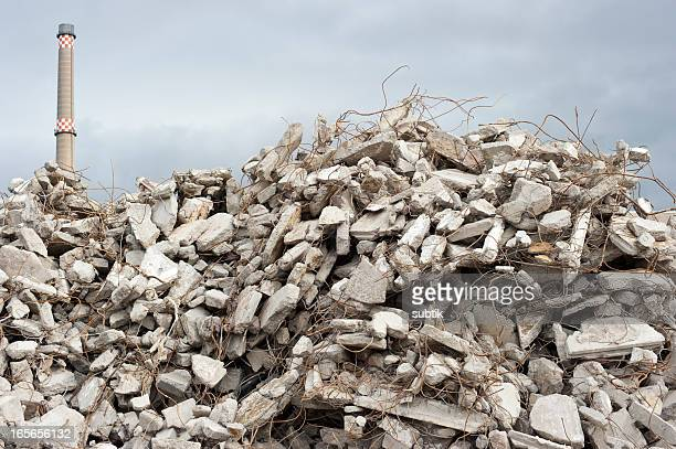 building site rubble - rubble stock pictures, royalty-free photos & images