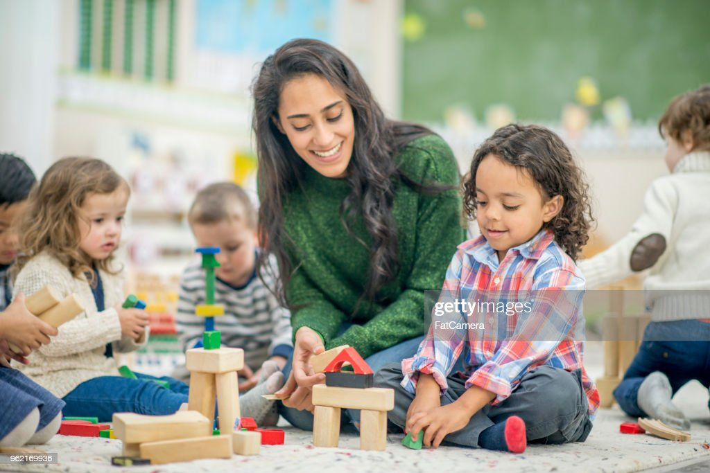 Building Together : Stock Photo