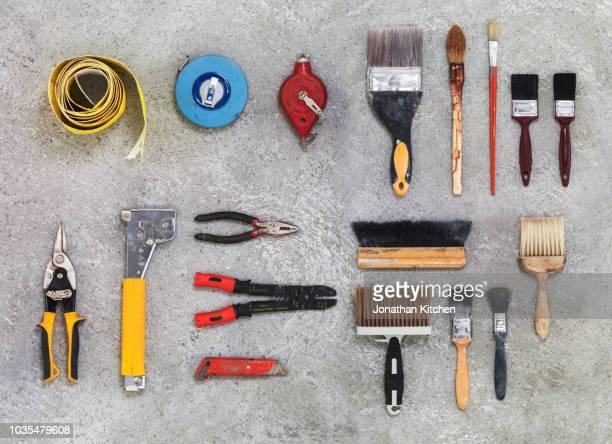 building tools 5 - 建設用機器 ストックフォトと画像