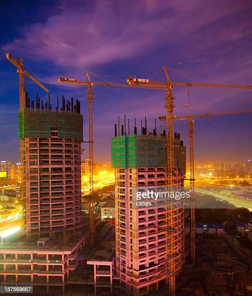 Bâtiment en cours de Construction