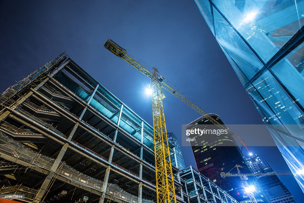 Building Under Construction : Stock Photo