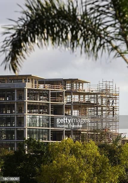 A building under construction picutred on April 30 2013 in Maputo Mozambique