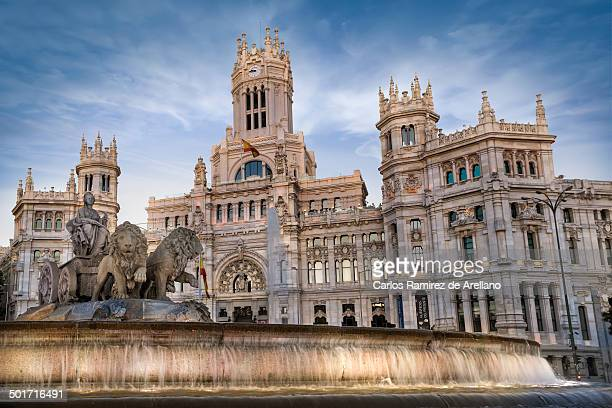 CONTENT] Building where the current city of Madrid is housed Old Palace of Communications and the monument to the Cibeles Source of the goddess...