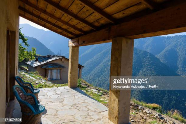 buildings against sky - uttarakhand stock pictures, royalty-free photos & images