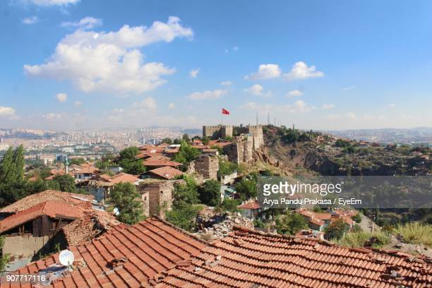 buildings against sky - ankara turkey stock pictures, royalty-free photos & images