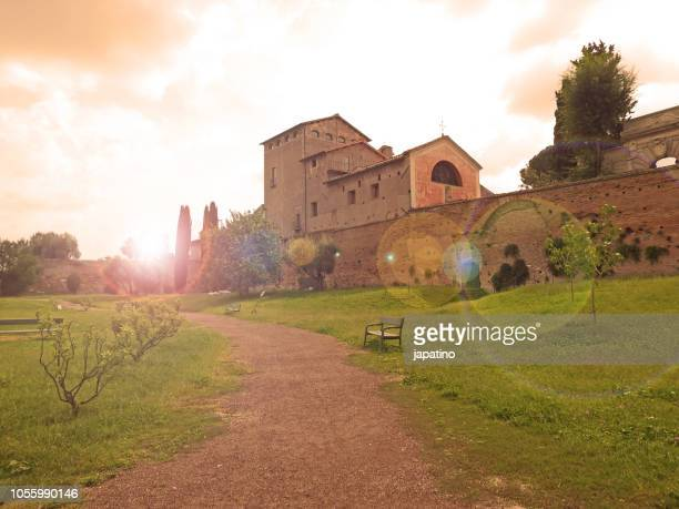 Buildings and palaces on the Palatine Hill