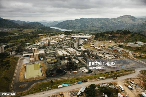 Buildings and refinery plant structures stand at the Northam Platinum Ltd Booysendal platinum mine stands outside the town of Lydenburg in Mpumalanga...