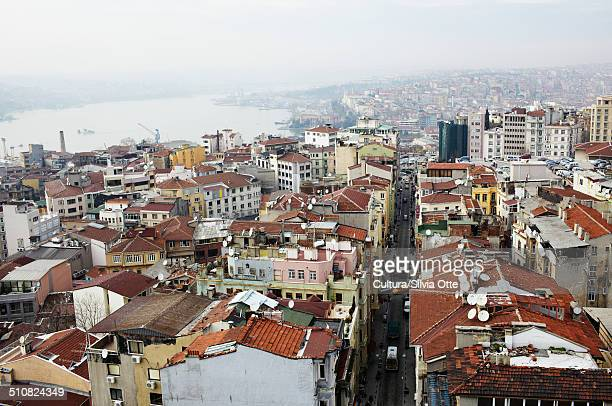 Buildings and rooftops, Istanbul, Turkey