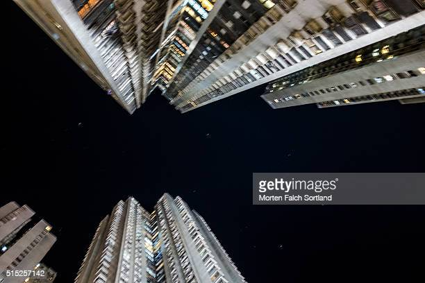 Buildings and stars