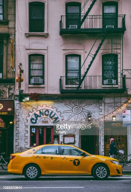 Buildings and streets of Manhattan, New York City