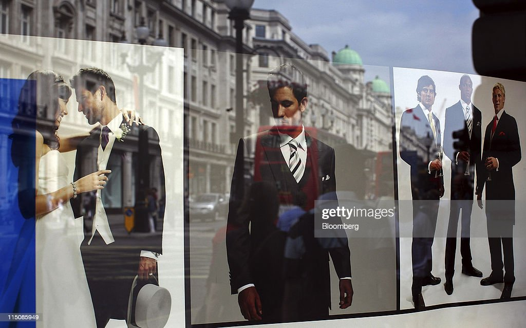 Buildings Are Reflected In The Window Of The Austin Reed Ltd Store On News Photo Getty Images
