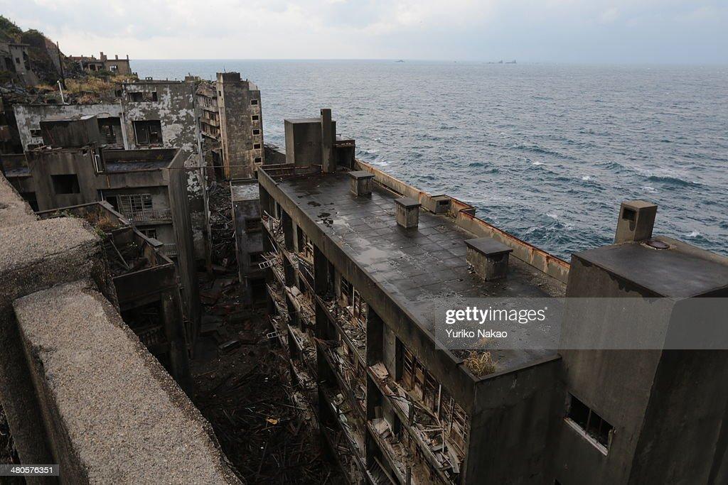 Restricted Area In Battleship Island : News Photo