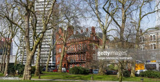 buildings around paddington green - london, england - paddington london stock pictures, royalty-free photos & images