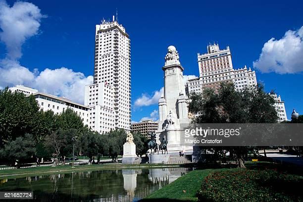 Buildings Around Plaza Espana