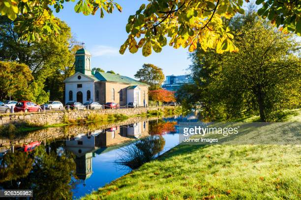 buildings at river - gothenburg stock pictures, royalty-free photos & images