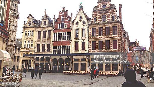 Buildings By Town Square At Leuven