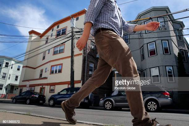 Buildings containing units once owned by Jared Kushner in Somerville MA are pictured on Jun 22 2017 Before Jared Kushner was the top White House...
