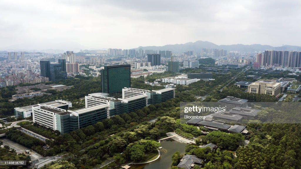 CHN: Inside Huawei's Headquarters As Company Seeks $1 Billion Funding
