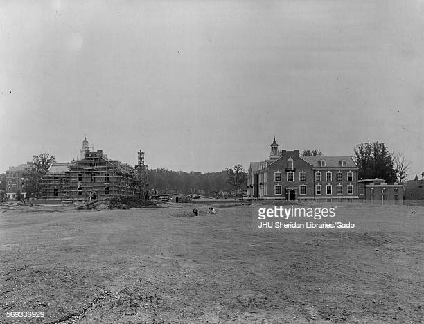 Buildings General Johns Hopkins University Baltimore Maryland 1915 Homewood Latrobe Hall Maryland Hall